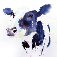 JEN BUCKLEY signed LIMITED EDITON PRINT of my Dairy COW watercolour