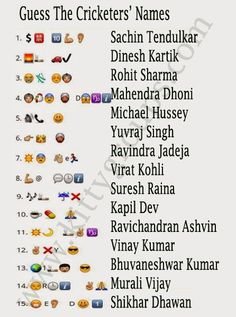 whatsapp riddle guess the cricketers name answers