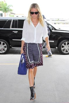 Gwyneth Paltrow - Celebrity Summer Street Style Pictures | Harper's Bazaar