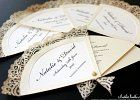 Spanish Fans Wedding Theme - Invitation