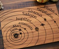 Solar System Cutting Board