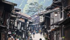 Narai is a picturesque small town in Nagano.
