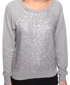 Saw a similar top at Steinmart around Christmas...same color, style, and sequined!