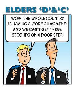 Having a Mormon Moment