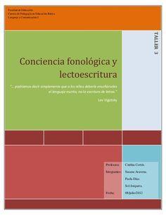 Conciencia fonológica y lectoescritura
