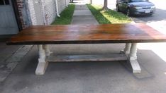 COUNTRY TRESTLE TABLE