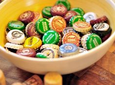 DIY beer cap projects
