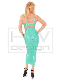ROCK 13 - Hobble Skirt, HW, Fashion, Latex, Rubber, Heavy, DVD, Design, Shop - with own production