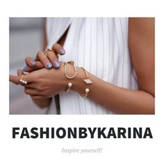 Hey guys! I made my own blog. It's all about fashion. It's www.FashionbyKarina.wordpress.com I would be very happy if you check it out and tell your friends about it! Xoxo, Karina