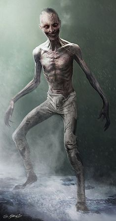 Jerad S Marantz: December 2013 Zombie Kunst, Arte Zombie, Zombie Art, Dark Creatures, Fantasy Creatures, Mythical Creatures, Monster Concept Art, Monster Art, Creature Concept Art