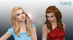 Isabella Hair at My Stuff • Sims 4 Updates
