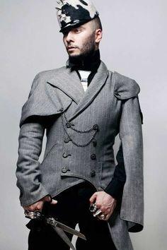 Resultado de imagem para military fashion men
