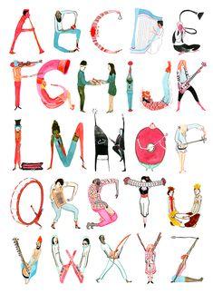 A-B-C, Do-Re-Mi - Inko Pinko - Kevin Ward Illustration