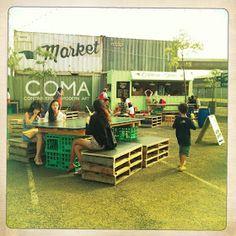 melbourne cafes photo blog: The Peoples Market