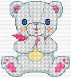 http://www.cross-stitch-pattern.net/Teddy-54-90-Free-Design.aspx