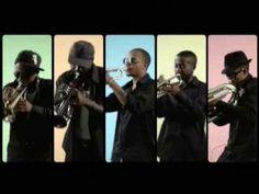 "Hypnotic Brass Ensemble: ""War"" - YouTube"