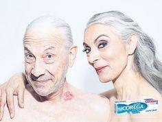 Corega Adhesive Denture Cream: Couple | http://www.gutewerbung.net/corega-adhesive-denture-cream-couple/ #Advertising