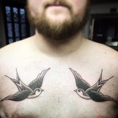 swallow tattoos