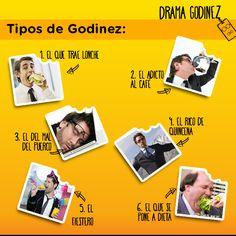 Tipos de #Godinez #DramaGodinez #Trabajo #BigAppetit #Meme #Humor
