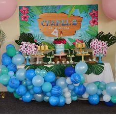 Moana Themed Party, Moana Birthday Party, Moana Party, 4th Birthday, Birthday Cake, Festa Party, I Party, Melbourne, Dessert Table