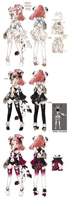 Dragon Nest Machina Costume Design