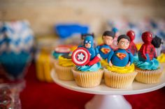 These cupcakes were a huge hit at my son's party!