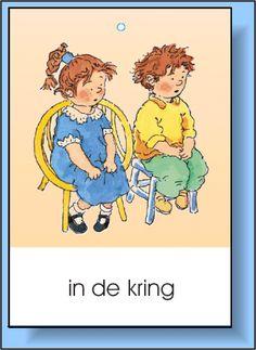 Dagritme kaarten voor in de klas. Classroom Setup, School Classroom, Schedule Cards, Class Rules, Spring Theme, Little Monsters, Classroom Management, Elementary Schools, Kindergarten