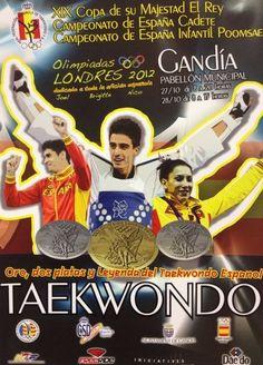 Gandía: Copa del Rey de Taekwondo, en la que se rendirá homenaje a los medallistas españoles en los Juegos Olímpicos de Londres Joel González, Brigitte Yagüe y Nico García.