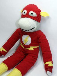 Sock monkey Flash!