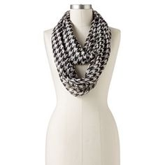 Apt. 9 Houndstooth Infinity Scarf
