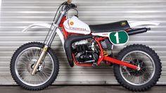 Toni Arcarons Montesa Cappra  P.R.S. 1981 Ktm Dirt Bikes, Off Road Bikes, Motocross Bikes, Vintage Motocross, Racing Motorcycles, Motorcycle Dirt Bike, Moto Bike, Motorcycle Design, Vintage Bikes