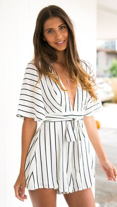 Chasing Pavements Playsuit
