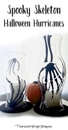 Spooky Skeleton Halloween Hurricanes