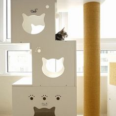 DIY Unique Cat Furniture Tutorial   Meow Cat.com
