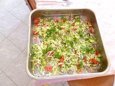 Filetti di Muggine in crosta di zucchine