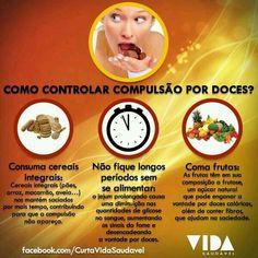Como controlar a compulsão por doces