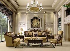 Classic elegant living room design ideas