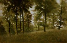 Titre de l'image : Vilhelm Hammershoi - Beech Forest, Arresödal