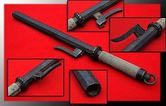 Antique Japanese teppo jutte (a truncheon firearm).    http://www.samuraiantiqueworld.com/