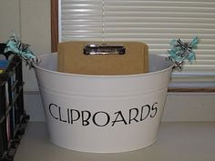 Classroom storage ideas from Create●Share●Inspire