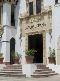 La Casa de Espana in Old San Juan, Puerto Rico
