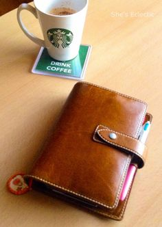 Shes Eclectic: I have joined the Malden family. and its not aqua! My beautiful ochre Malden Filofax and a starbucks coffee. Goals Planner, Life Planner, Happy Planner, Journal Inspiration, Filofax Malden, Planner Organization, Organizing, Day Planners, Pen And Paper