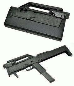 Magpul FMG9. Concealed semi-auto handgun prototype.