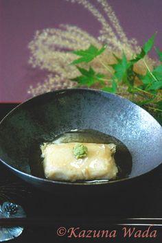 フライパンで!揚げ出し胡麻豆腐