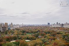 One of the Club's stunning views of Central Park | Kelly Kollar Photography