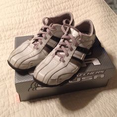 Men's Skechers Shoes Men's Skechers. Worn only a handful of times. Some scuffs on right shoe toe- reflected in price. In otherwise excellent condition. Skechers Shoes Flats & Loafers
