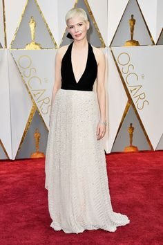 From Emma Stone in Givenchy Haute Couture, to Naomie Harris in Calvin Klein Collection, see who wore what on the Oscars 2017 red carpet