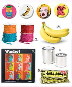 POP! Andy Warhol Party Theme