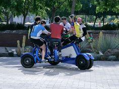 The Google conference bike! I LOVE it!