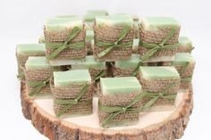 25 Rustic Soap Favors  Handcrafted  Baby by RusticDesignsByAmie, $37.50